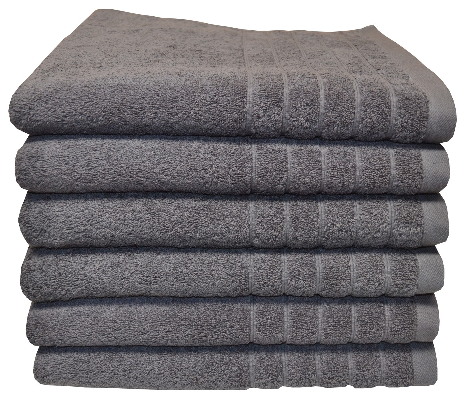 Egyptian cotton bath towel charcoal color