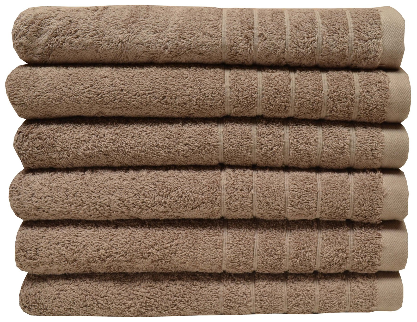 Egyptian cotton bath towel latte color