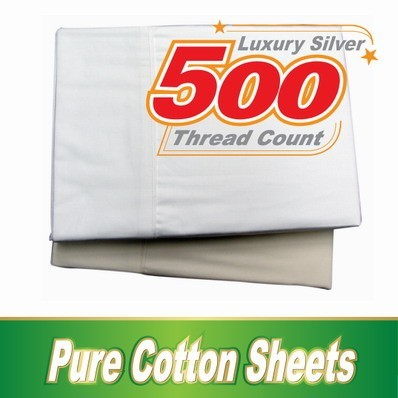 500 thread count fitted sheets