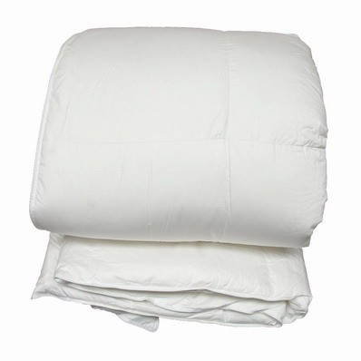 Queen Size Luxury Silk Cover Goose Down Quilt 800 Fill Power