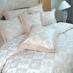 Brown Rose Duvet Cover Sets