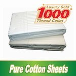 Double Size Luxury Cotton Quilt Cover 1000 TC