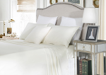 Luxury 1500TC Cotton Queen Sheet Sets Ivory