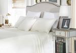 Luxury 1800TC Cotton Rich King Single Sheet Sets Ivory