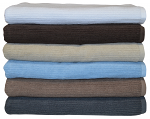 Egyptian Cotton Classic Ribbon Bath Towels