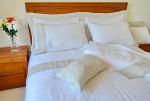 Pure Linen Sheets Queen Size, Natural Header