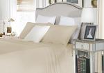Luxury 1500TC Cotton Single Sheet Sets Soft Linen