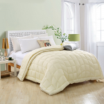 GOLDWOLKE Four Seasons Artificial Down Quilt King Size