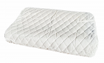 Latex Therapeutic Design Pillow Contoured Shape 60 x 40 x 10/12 cm, Bonus Pillow Protector