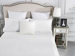 Luxury 1800TC Cotton Rich King Sheet Sets White